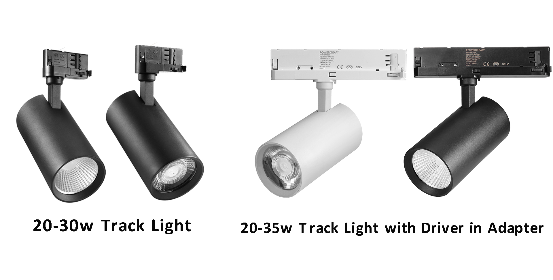 led track lighting, led track fixtures,led track spotlight