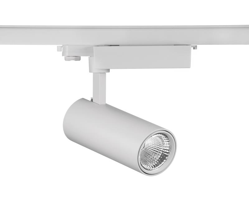 45w 4500lm 4000k 80Ra commercial track lighting