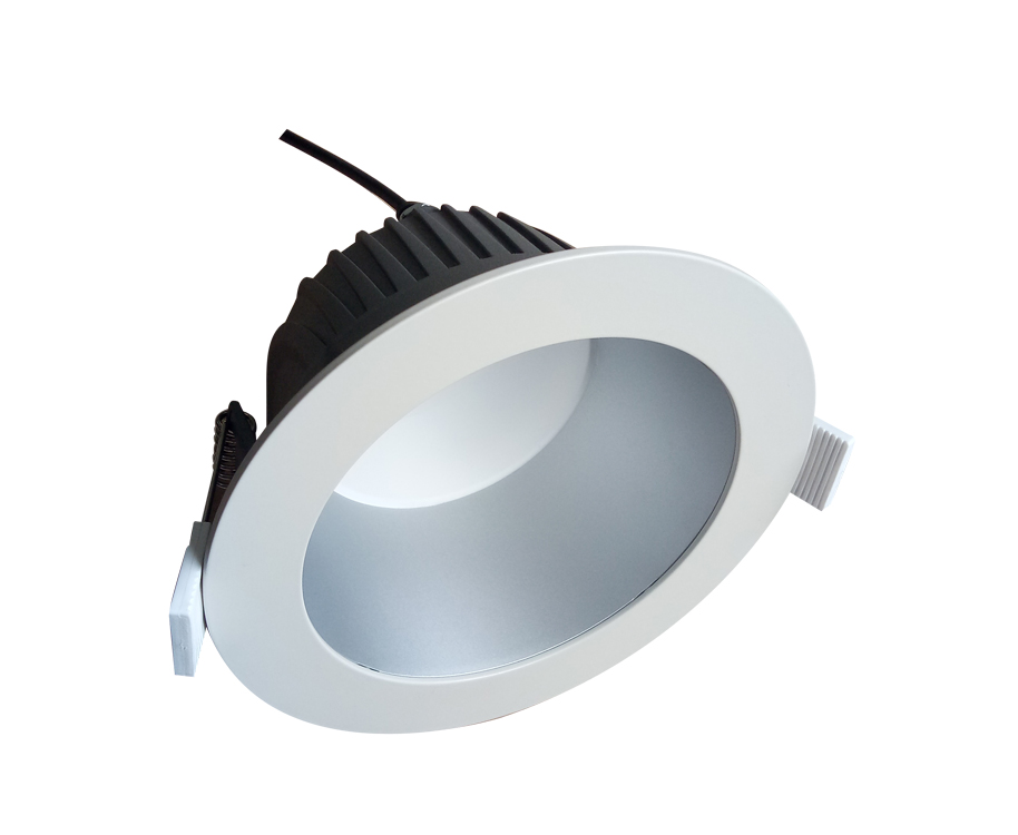 low UGR flicker free LED recessed downlight