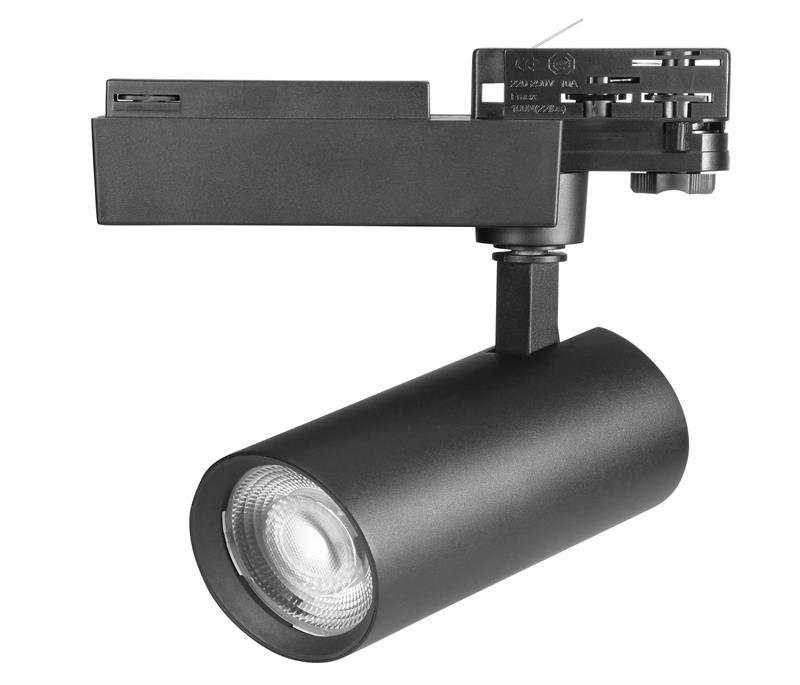 anti glare 25W 5 years warranty led tracklight