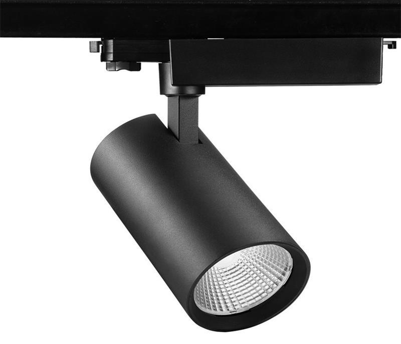 led new spotlight cob european tracklight