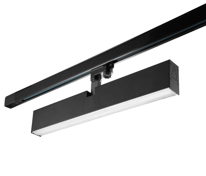 40w led tracking linear light Black color