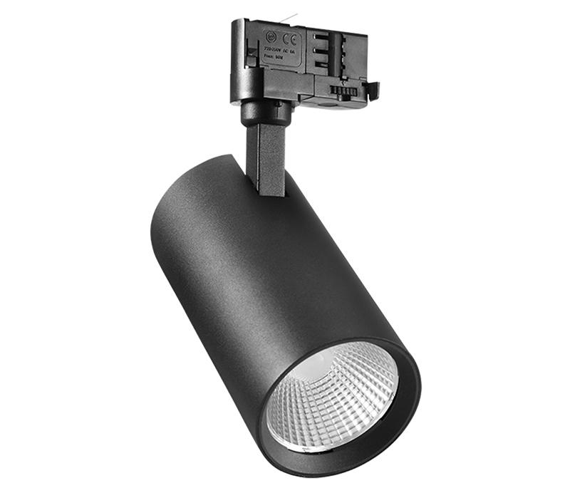 Anti-Glare lighting 25w cob led track spot light