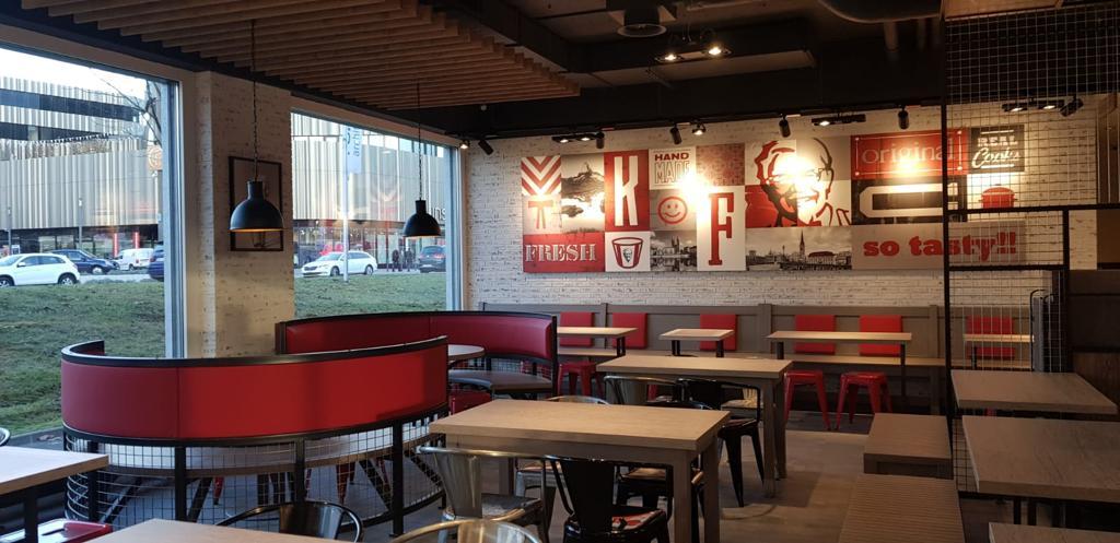KFC Restaurant in Switzerland 2018