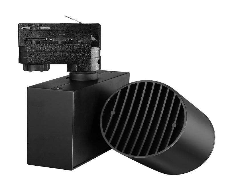 35w 90Ra 3850lm led tracklight high efficency reflector
