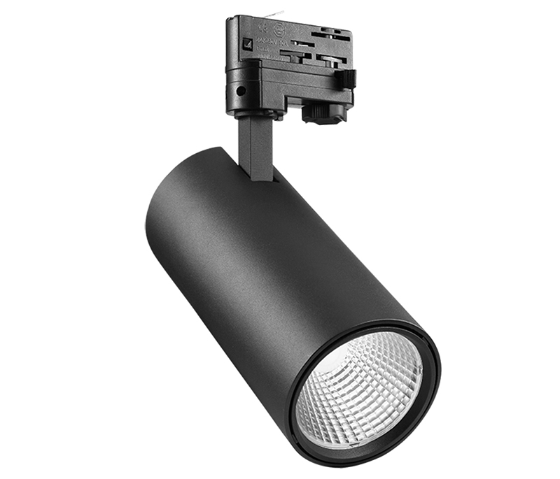 Hign-End cct changeable tunable 30w led tracklight