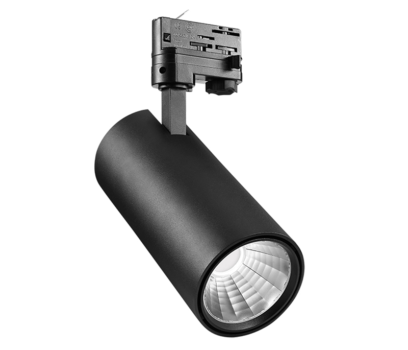 150Lm/w 30w/35w high-light efficiency track lighting