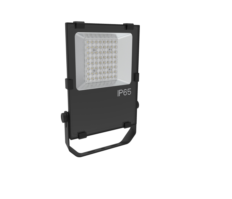 50w 7500lm floodlight commercial outdoor lighting