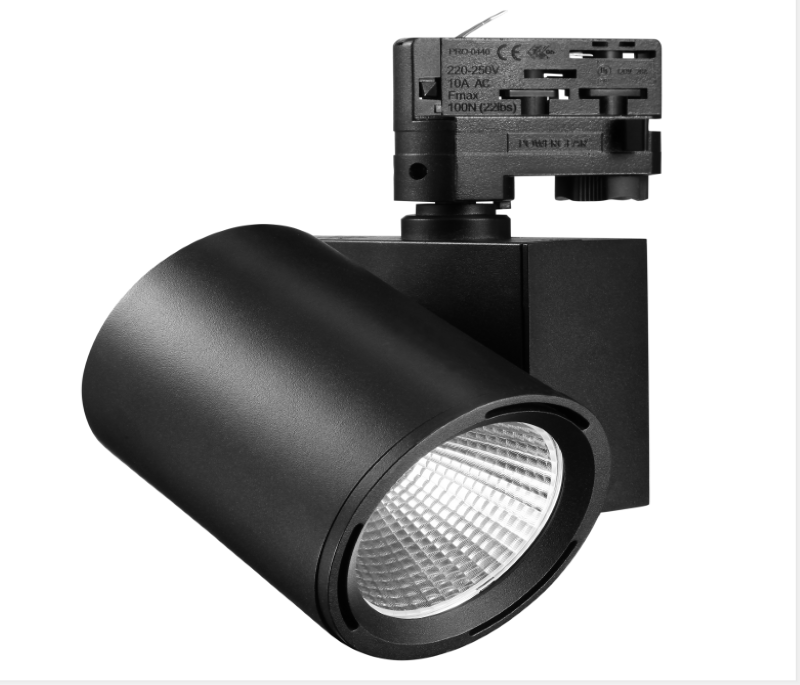 35w 3850lm 80Ra flicker free led tracklight