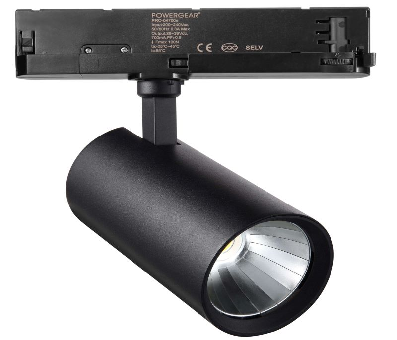 120-130lm/w 20w dali track lighting
