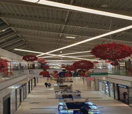 3meter linear light for shopping mall lighting soluions